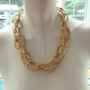 Jewelry - Multi Strand Link Necklace